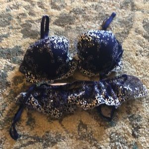Dream angels demi and garter by Victoria's Secret